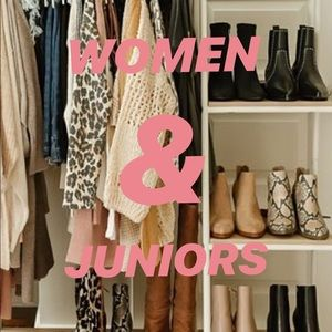 WOMEN & JUNIOR'S CLOTHING